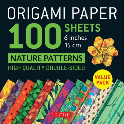 Origami Paper 100 Sheets Nature Patterns