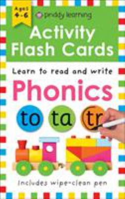 Phonics (Wipe Clean Activity Flashcards)
