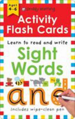 Sight Words (Wipe Clean Activity Flashcards)