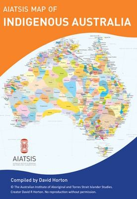 AIAtSIS Map  Indigenous  Australia (Wall Map  - A0 Flat)