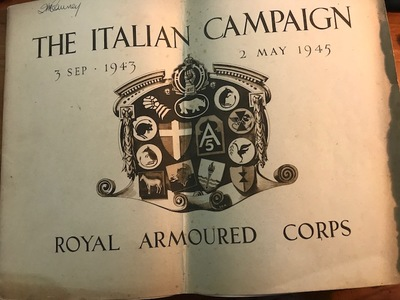 The Italian Campaign 3 Sep 1943 - 2 May 1945