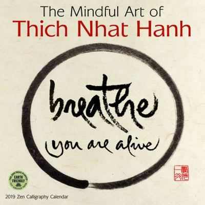 2019 Mindful Art of Thich Nhat Hahn Wall Calendar