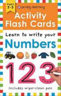 Numbers - Wipe Clean Activity Flashcards