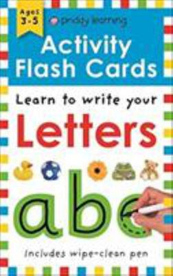 Letters: Wipe Clean Activity Flashcards