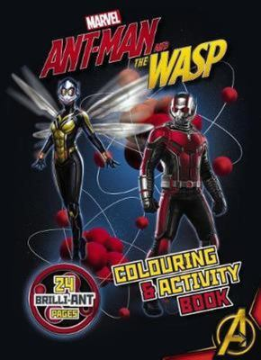 Marvel - Ant-Man and the Wasp Colouring and Activity Book