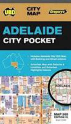 Adelaide City Pocket Map 560 12th