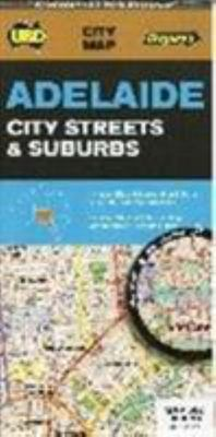 Map Adelaide City Streets and Suburbs No.562 6th