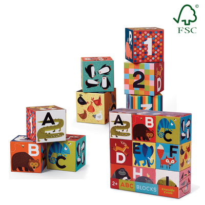 ABC/123 Jumbo Block Set (9pc)
