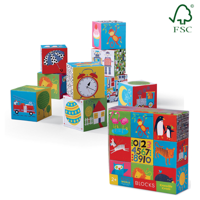 Kid's World Jumbo Block Set (9pc)