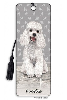 Poodle 3D Bookmark