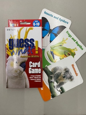 Card Game Guess What Australian Wildlife