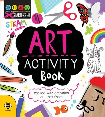 Art Stem Activity Book