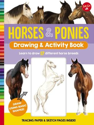Horses and Ponies Drawing and Activity Book