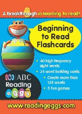 Beginning to Read Flashcards - ABC Reading Eggs