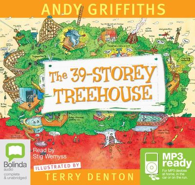 The 39 Storey Treehouse (MP3)