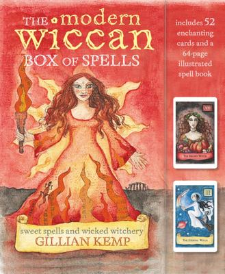The Modern Wiccan Box of Spells - Includes 52 Enchanting Cards and a 64-Page Spell Book
