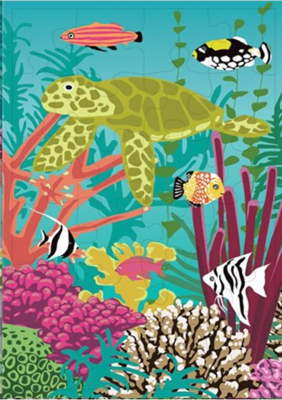 Coral Reef Reversible Jigsaws