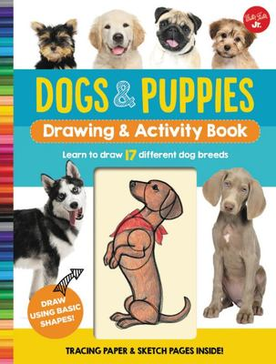 Dogs and Puppies (Drawing and Activity Book)
