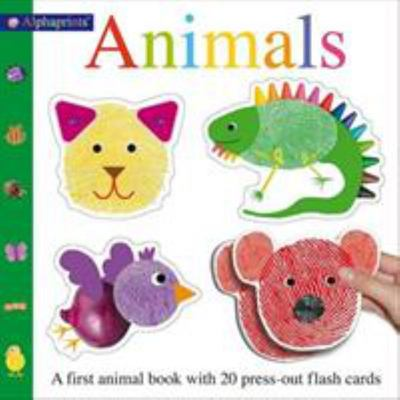 Alphaprint Animals Flashcard Book