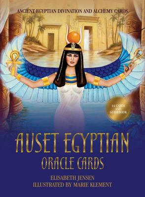 Auset Egyptian Oracle Cards - Ancient Egyptian Divination and Alchemy Cards