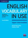 English Vocabulary in Use Upper-Intermediate : Vocabulary Reference and Practice: with Answers