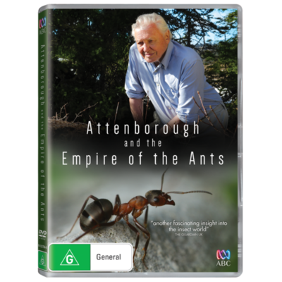 David Attenborough's Empire of the Ants DVD