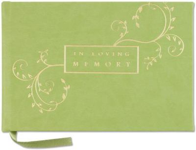 In Loving Memory Guest Book (Memorial Book, Funeral Book)