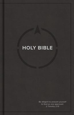 CSB Drill Bible, Gray LeatherTouch over Board