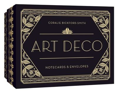 Art Deco Notecards and Envelopes