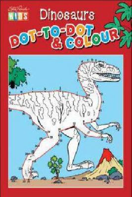 Dinosaurs Dot-to-Dot & Colouring Book