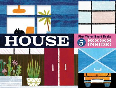 House: First Words Board Books : 5 books inside!