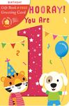 Gift Book & Greetings Card Combo:Hip, Hip, Hooray You Are 1!