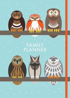 I Like Birds: A Parliament of Owls Family Planner