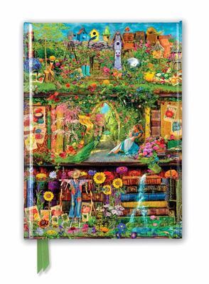 Aimee Stewart: Garden Bookshelves (Foiled Journal)