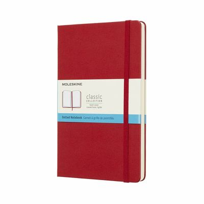 Moleskine Large Dotted Red