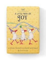 A Little Box of Joy: 24 Joyous Thoughts to Colour Your World (Boxed Set of Little Affirmations Cards)