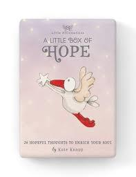 A Little Box of Hope - 24 Affirmation cards