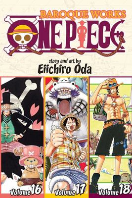 One Piece (3-in-1) Vol. 6 (16, 17, 18)