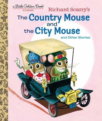 The Country Mouse and the City Mouse (LGB Little Golden Book)