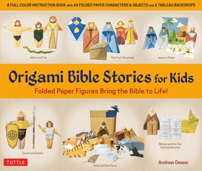 Origami Bible Stories for Kids Kit - Bring the Bible to Life with This Interactive Kit!