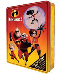 Disney Pixar Incredibles 2 - Limited Edition Collector's Tin