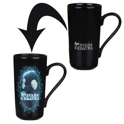 Voldemort Heat Changing Latte Mug