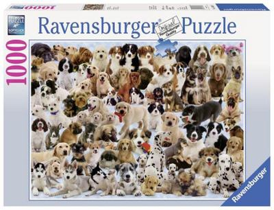 Ravensburger - Dogs Galore! Puzzle 1000pc