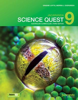 Jacaranda Science Quest 9 Australian Curriculum 3E LearnON and Print
