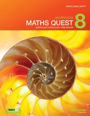 Jacaranda Maths Quest 8 Australian Curriculum 3E LearnON and Print - Wiley