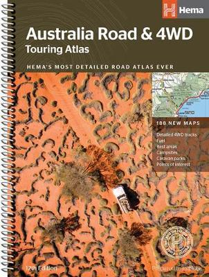 Australia Road & 4WD Touring Atlas 12E