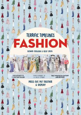Terrific Timelines: Fashion - Press Out, Put Together and Display!