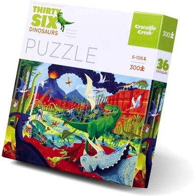Thirty Six Dinosaurs Puzzle (300pc)