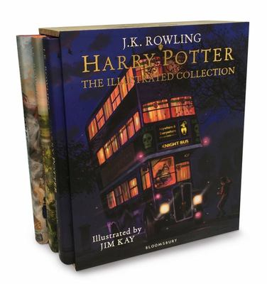 Harry Potter the Illustrated Collection (3 Books in Pack)