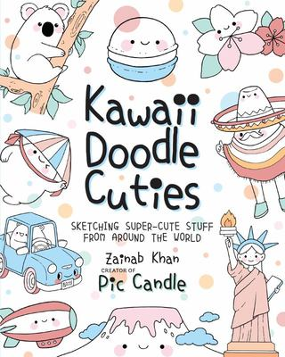 Kawaii Doodle Cuties - Around the World